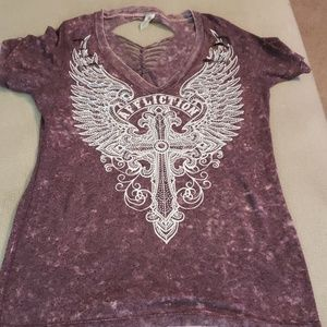 Affliction women's shirt